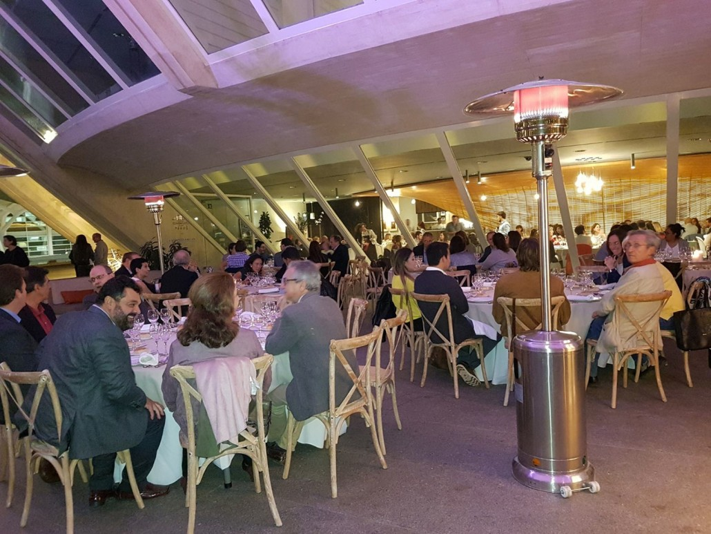 Cena de Trabajo durante el Congreso del CDV
