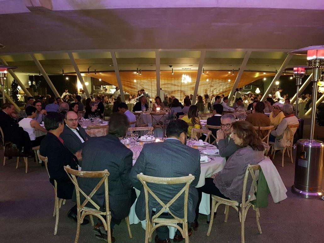 Cena de Trabajo durante en el Congreso del CDV