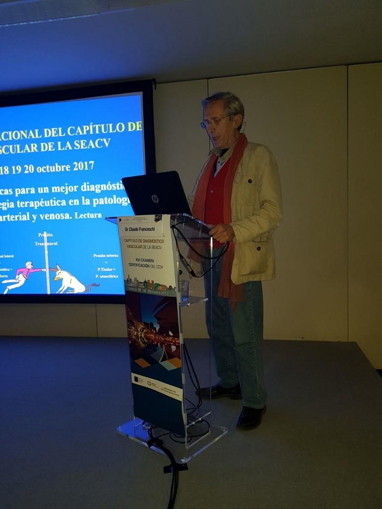 Conferencia Magistral Dr Claude Franchesqui