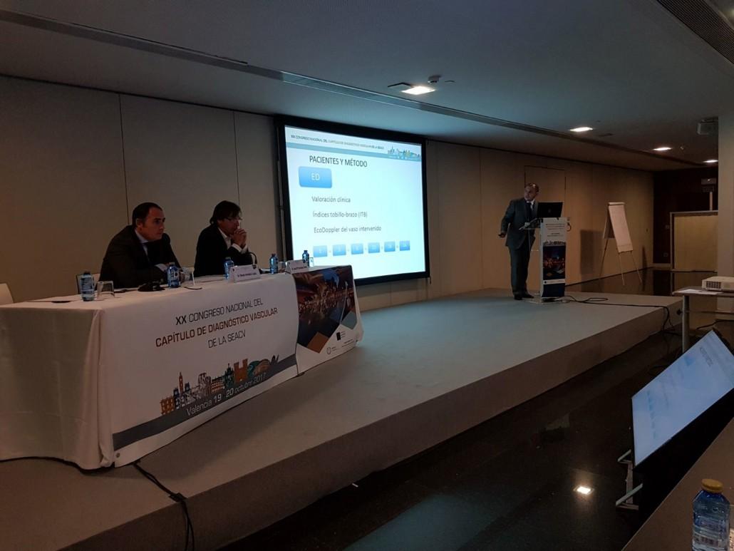 Presentación del Dr Xavi MArti Mestre, ganador del Premio Salvador Lujan a la mejor comunicación del Congreso